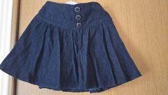 イング☆美品パンツ付ジーンズスカート