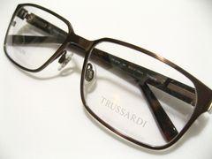 トラサルディ世界シャルマン監修チタン&サイドセル極上インテリ知的クールNO1世界眼鏡フレーム