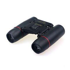 ミニ双眼鏡 望遠鏡 30x60倍  ナイトビジョン超小型 ライブ