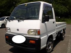売切り稀少エアコン付き4WD5速マニュアル車検満タン軽トラック
