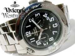 美品 1スタ★ヴィヴィアン・ウエストウッド クロノグラフ 腕時計