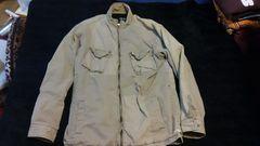 STUSSY、メンズミリタリー風切り返しジャケット
