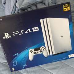 新品 PS4pro プレイステーションプロ ホワイト
