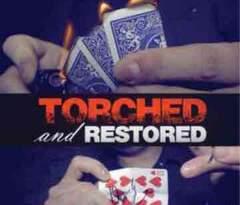 破いて燃やしたカードの完全復活!手品