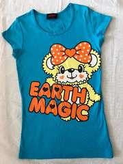 ♯EARTHMAGIC♯ マフィーちゃん半袖Tシャツ160アース ロニィ