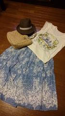 Tシャツ&ロングスカート☆セット☆mystywomon