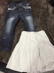 7号&w61サイズ☆デニム&スカートセット