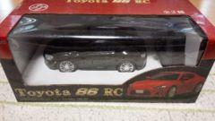トヨタ toyota 86 RC ラジコン ハチロク 黒 新品未開封
