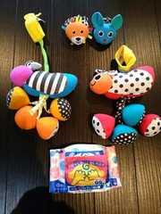 Sassy★BABYおもちゃ5点まとめ売り美品