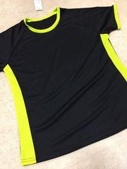 新品★スポーツTシャツ黒LL★adidas puma系