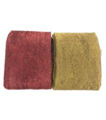 浴衣用ボリュームラメへこ帯ダークレッド&ダークゴールド2本set