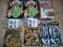 送込☆限定品 東北 道の駅 お土産 国産ご飯のおとも 4種類7つ