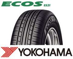 ★185/65R15 送料無料★ヨコハマ ECOS ES31 新品タイヤ 4本セット