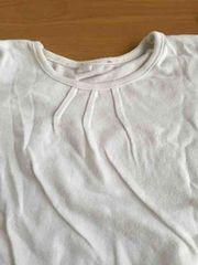 美品!!ホワイトシンプル長袖Tシャツ!