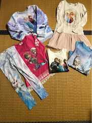 まとめ売り キッズ ワンピースTシャツ H&M アナエルサ 120