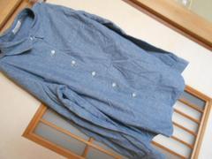 LEPSIM*青薄手長袖シャツM*クリックポスト164円