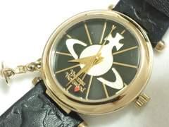 8058/ヴィヴィアンウエストウッド★滅茶苦茶素敵なレディース腕時計チャーム付き!