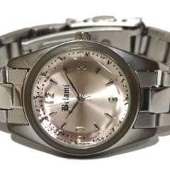 良品【980円〜】Be Lami カットガラス風防 レディース腕時計