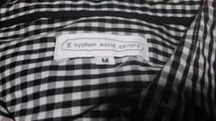 イーハイフンワールドギャラリー 長袖チェックシャツ 未使用