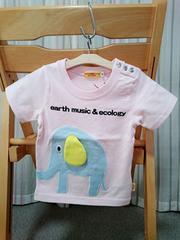 60%off★即決★ラス1★新品★アースミュージックエコロジーTシャツ★80�p