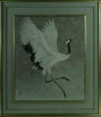 絵画 日本画 百々茂貫 日本画院 名誉会員 真作保証