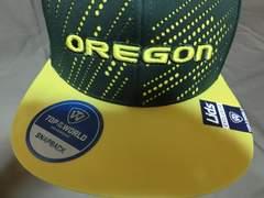 USA購入 USカレッジ OREGON DUCKSロゴ刺繍入りCAP
