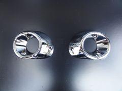 三菱 アウトランダー GF7W/8W クロームメッキフォグライトリング フォグランプリム