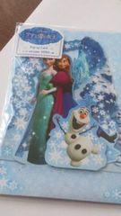 最終値下げ☆アナと雪の女王 ポップアップカード《アナとエルザとオラフ》
