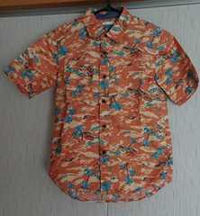 新品☆GUのアロハシャツ☆size130