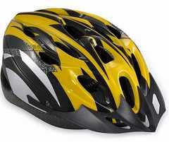 超軽量 サイクリング ヘルメット イエロー&ブラック