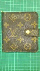 ルイヴィトン 本物 二つ折り 財布