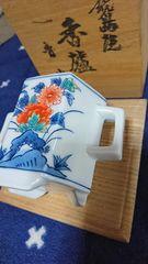 色絵鍋島→魯山窯…蓋獅子香枦→窯…印共箱→昭和期…