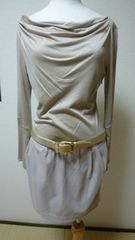 人気ブランドPinky&Dianneのベルト付き可愛いワンピース