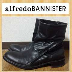 alfredoBANNISTER アルフレッドバニスター 41 変形サイドZIPブーツ