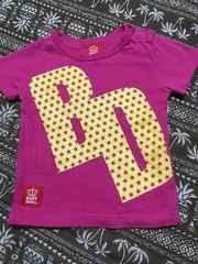 美品 ベビードール半袖Tシャツ 80