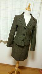 ◆美品◆VONBINスカートスーツ