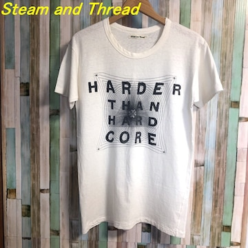 steam and thread Tシャツ