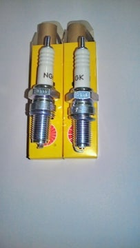スズキGSX250T・Lザリ刀NGKプラグ2本