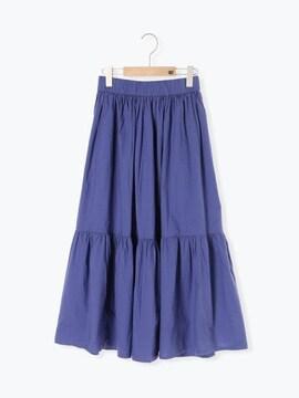 サマンサモスモス☆ポプリンティアードスカート