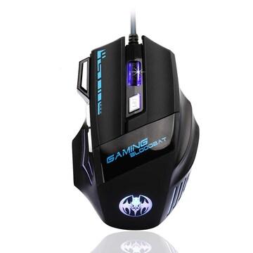 ゲーミングマウス 有線 usb DPI切り替えボタン 7ボタン