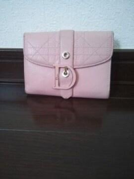 Christian Dior(クリスチャンディオール)Wホック財布