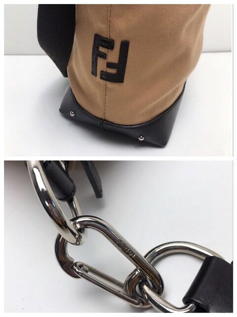 F216 FENDI フェンディ ショルダーバッグ 斜め掛け 保存袋付き < ブランドの