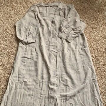 SPRAY PREMIUM    ロングワンピシャツ フリーサイズ