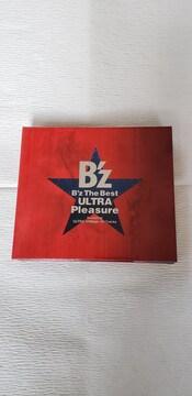 中古CD/DVD B'z The Best ULTRA Pleasure (CD2枚組+ライブDVD)