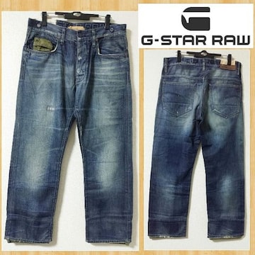 購入3万円 G-STAR RAW ジースター デニムパンツ ARMY ORIGINAL 34 3301