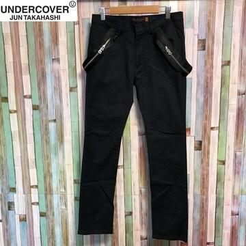 undercoverism サスペンダーデザインサンダー刺繍パンツ