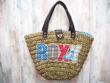 ROXY ロキシー カゴバッグ ブラウン/KRBG317