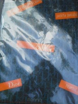 nonーno Dior オリジナル クリアファイル 新品 未開封