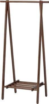 木製 ハンガー ブラウン  ハンガーラック コートハンガー