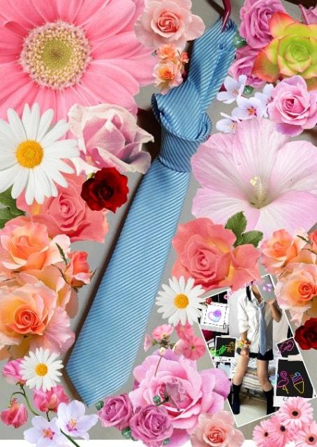 コス卒/仕事&イベントに♪水色のネクタイ♪  < 男性ファッションの